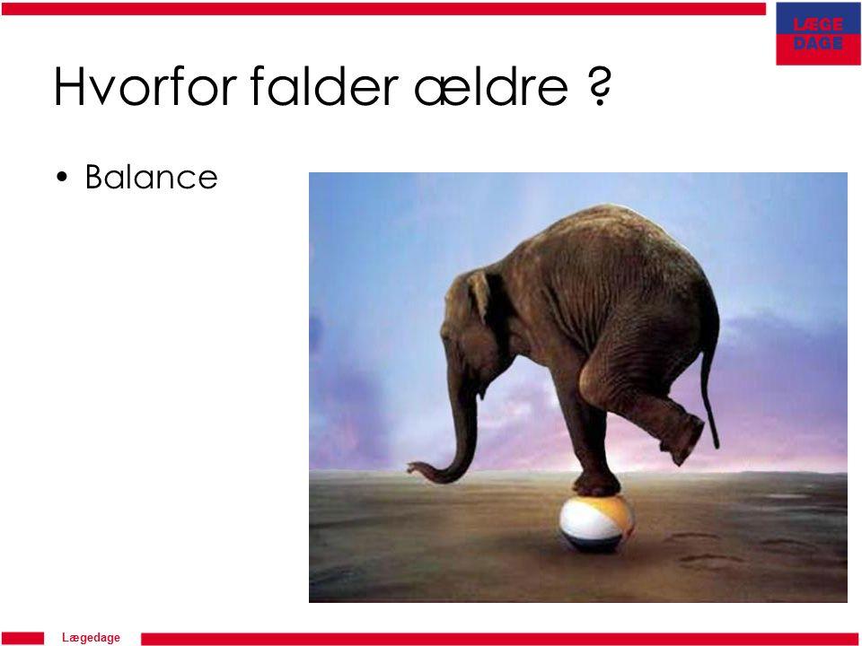 Lægedage Hvorfor falder ældre Balance