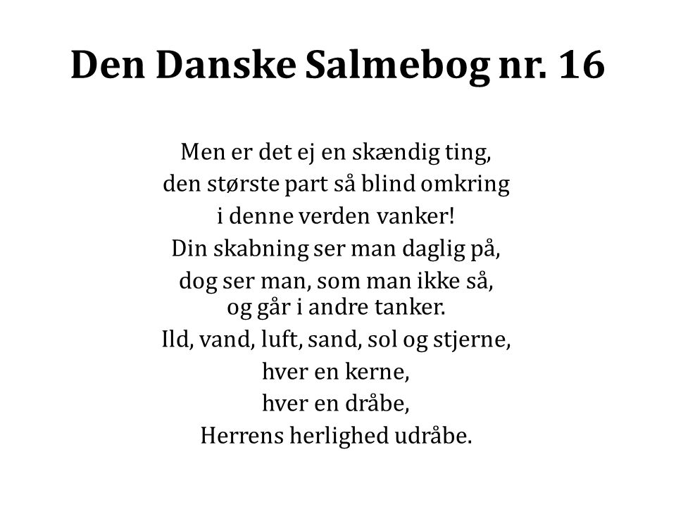 Den Danske Salmebog nr.