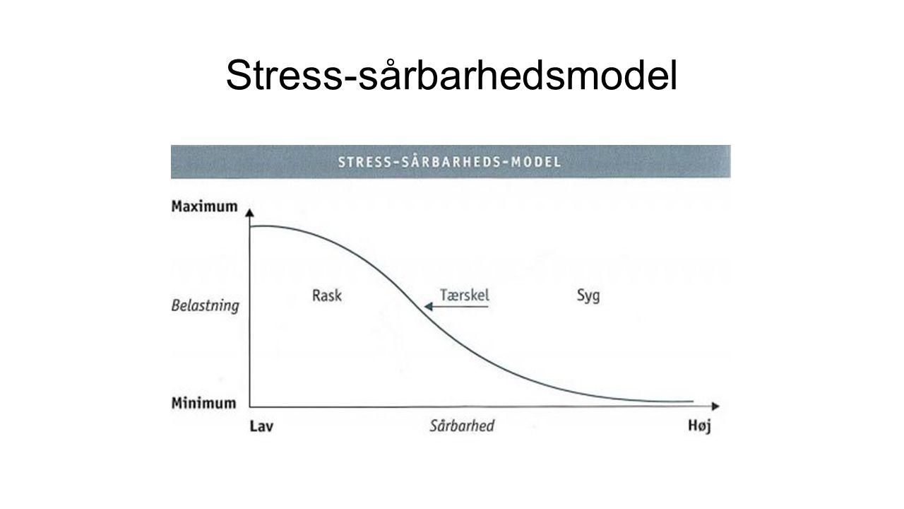 Stress-sårbarhedsmodel