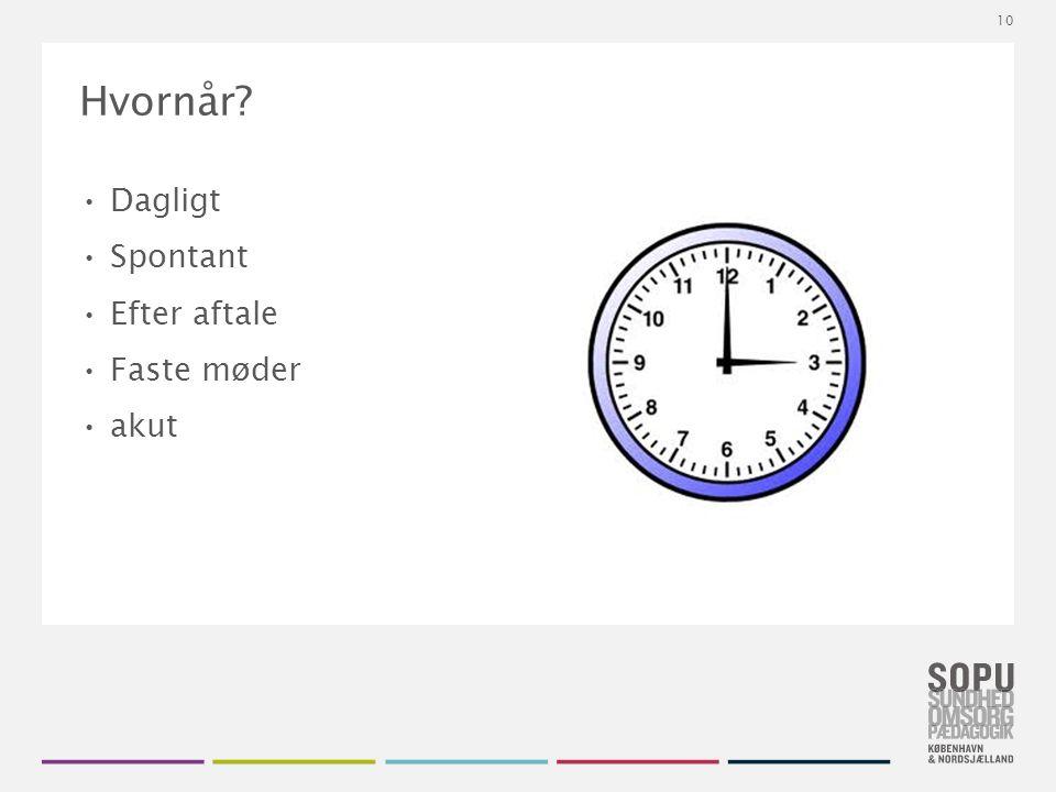 Tekstslide med bullets Brug 'Forøge / Formindske indryk' for at skifte mellem de forskellige niveauer Hvornår.