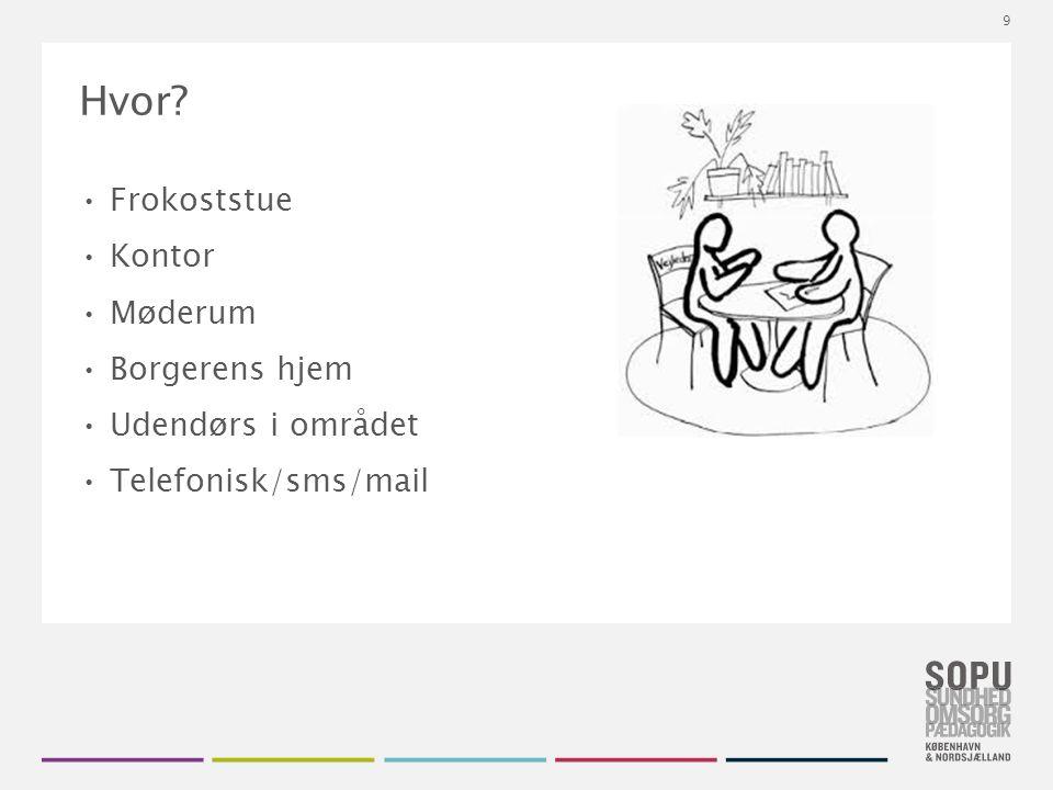 Tekstslide med bullets Brug 'Forøge / Formindske indryk' for at skifte mellem de forskellige niveauer Hvor.