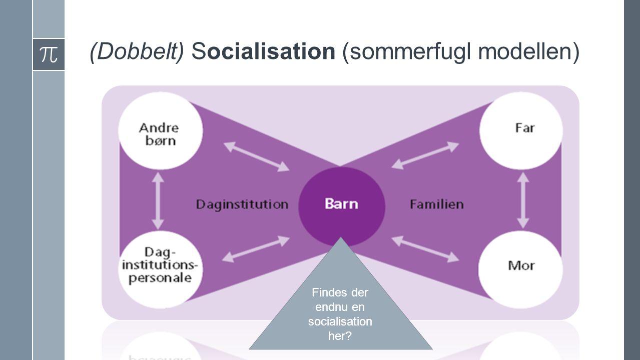 (Dobbelt) Socialisation (sommerfugl modellen) Findes der endnu en socialisation her?