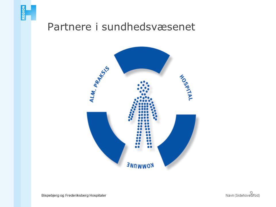 Navn (Sidehoved/fod)Bispebjerg og Frederiksberg Hospitaler 9 Partnere i sundhedsvæsenet