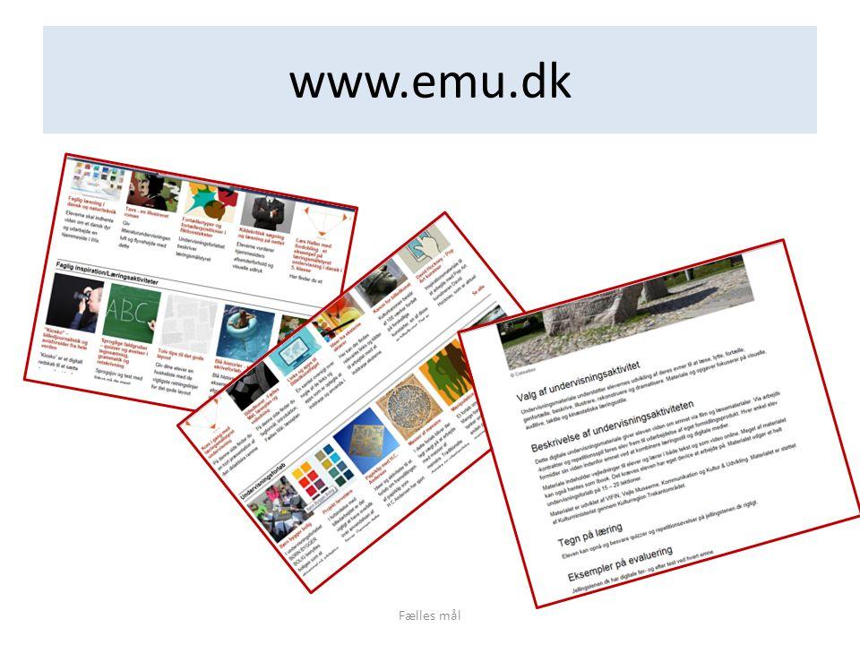 www.emu.dk Fælles mål