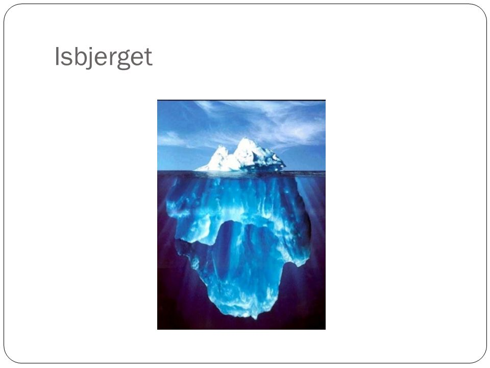 Isbjerget