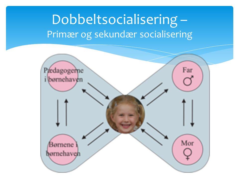 Dobbeltsocialisering – Primær og sekundær socialisering