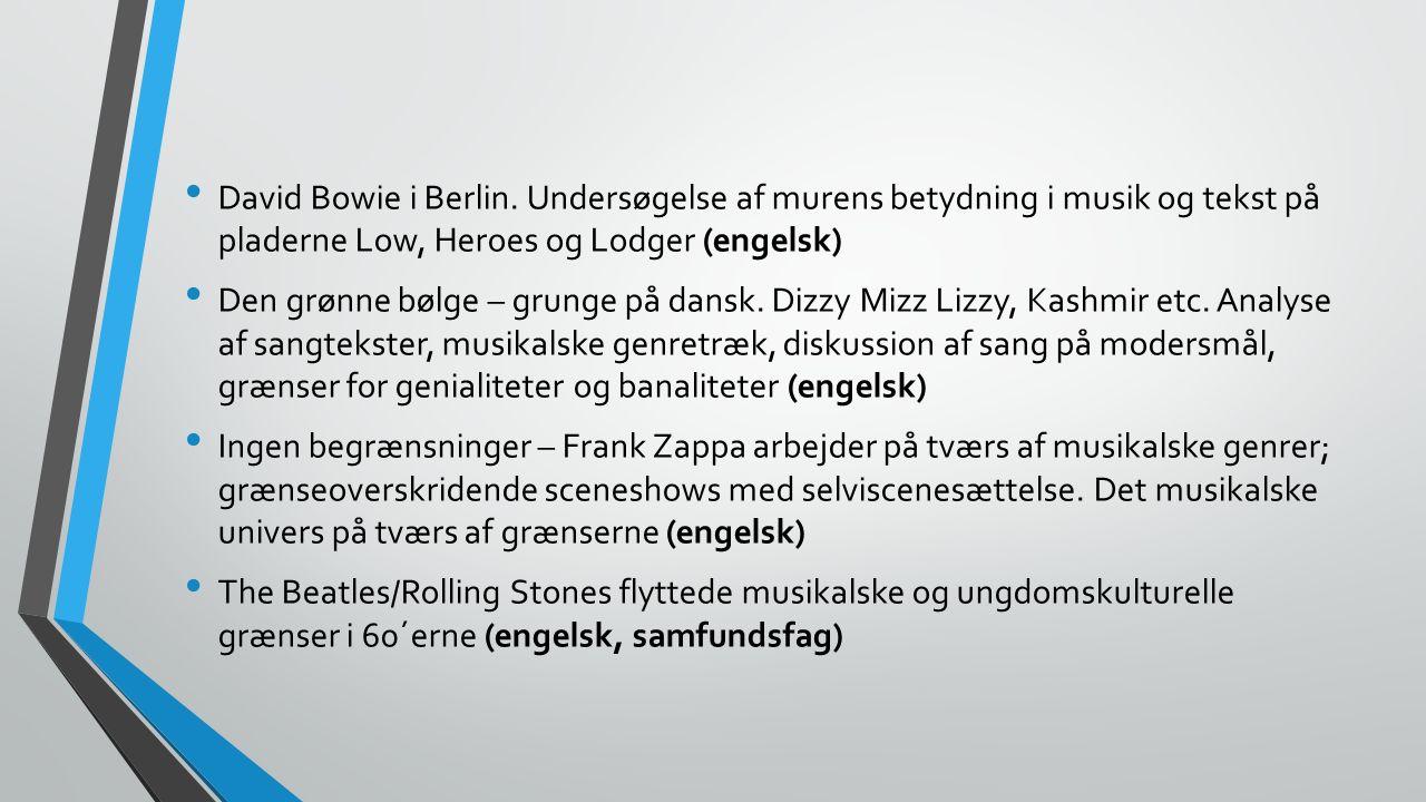 David Bowie i Berlin.