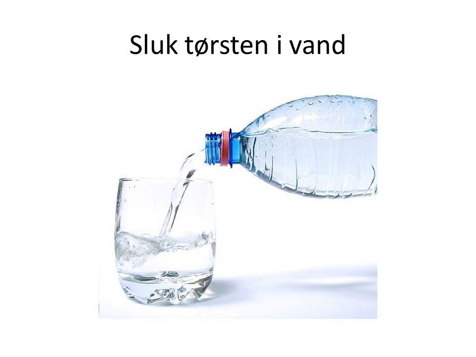 Sluk tørsten i vand