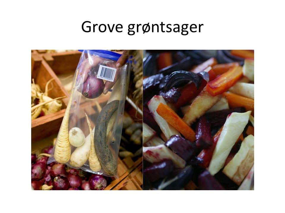 Grove grøntsager