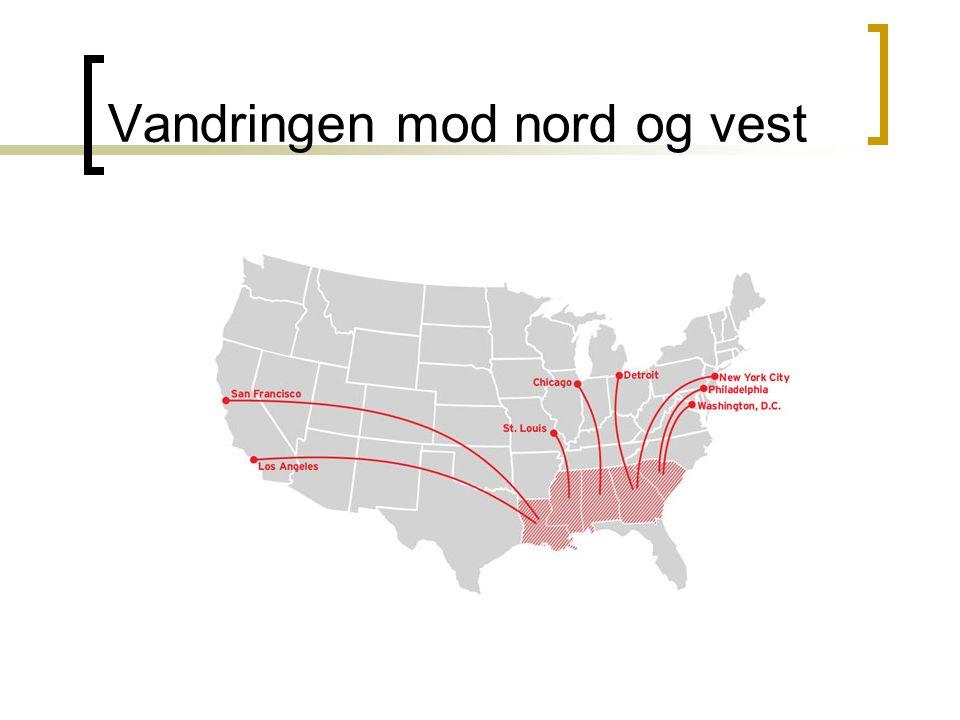 Vandringen mod nord og vest