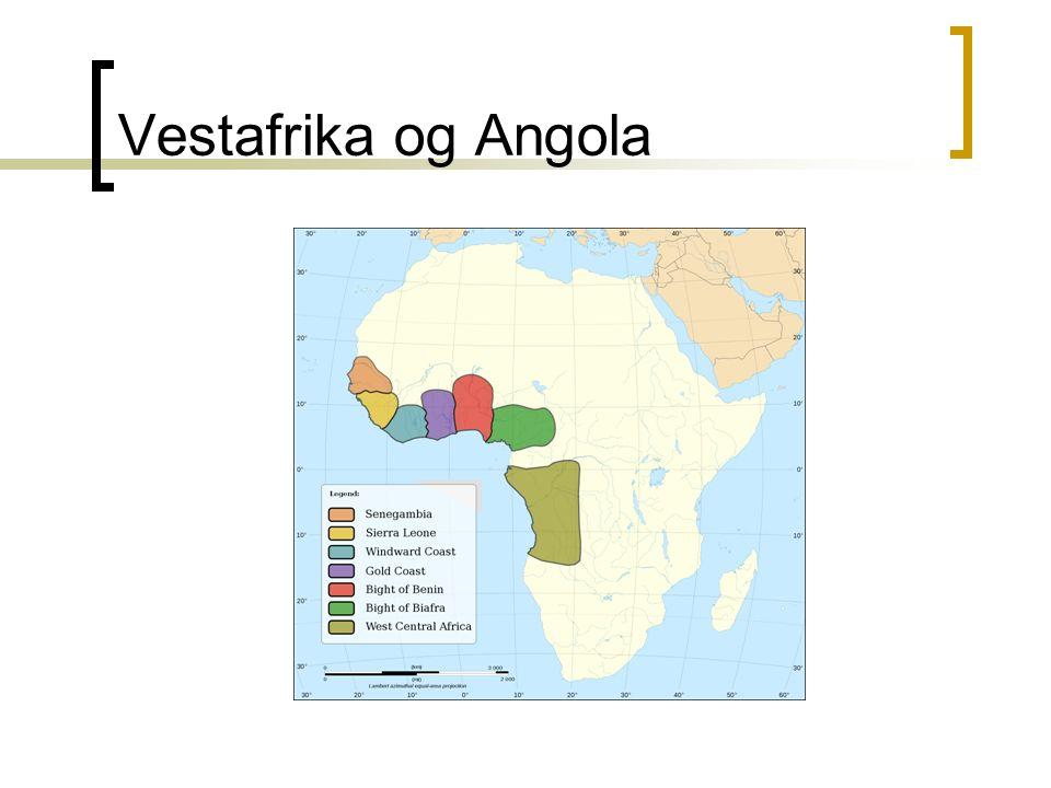 Vestafrika og Angola