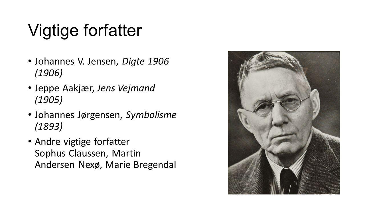Vigtige forfatter Johannes V.