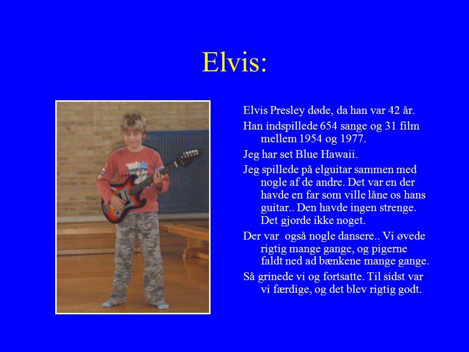 Elvis: Elvis Presley døde, da han var 42 år.