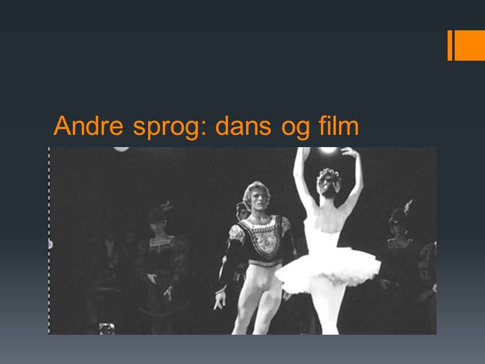 Andre sprog: dans og film