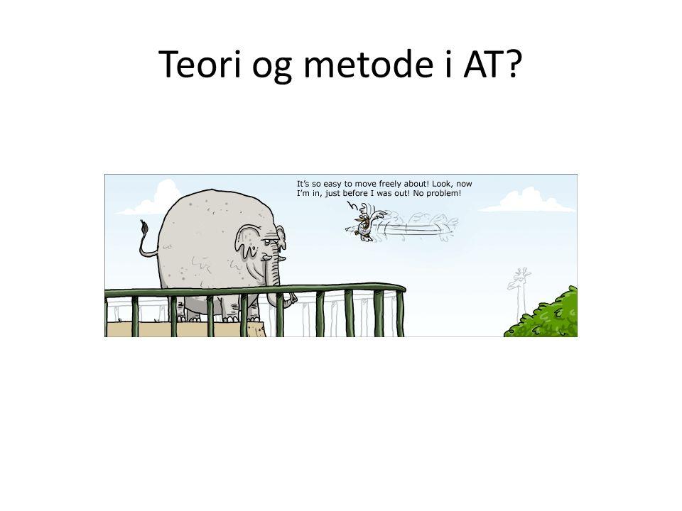Teori og metode i AT