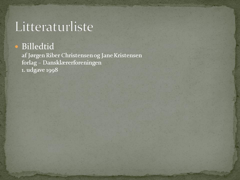 Billedtid af Jørgen Riber Christensen og Jane Kristensen forlag – Dansklærerforeningen 1.