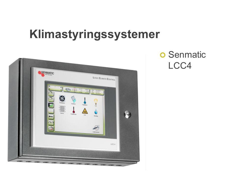 Klimastyringssystemer Senmatic LCC4