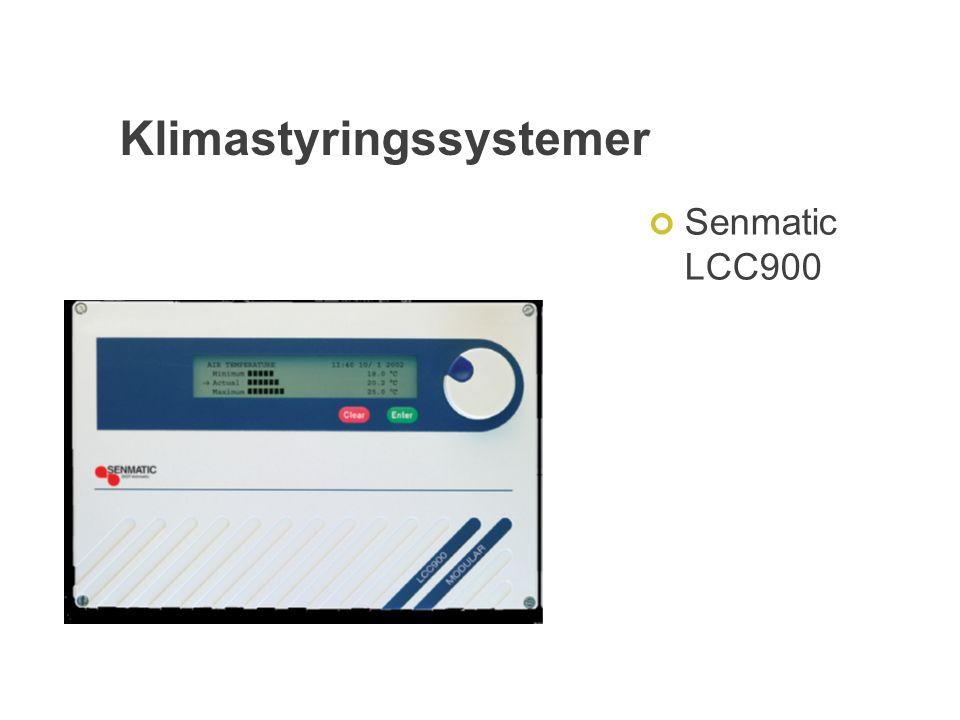 Klimastyringssystemer Senmatic LCC900