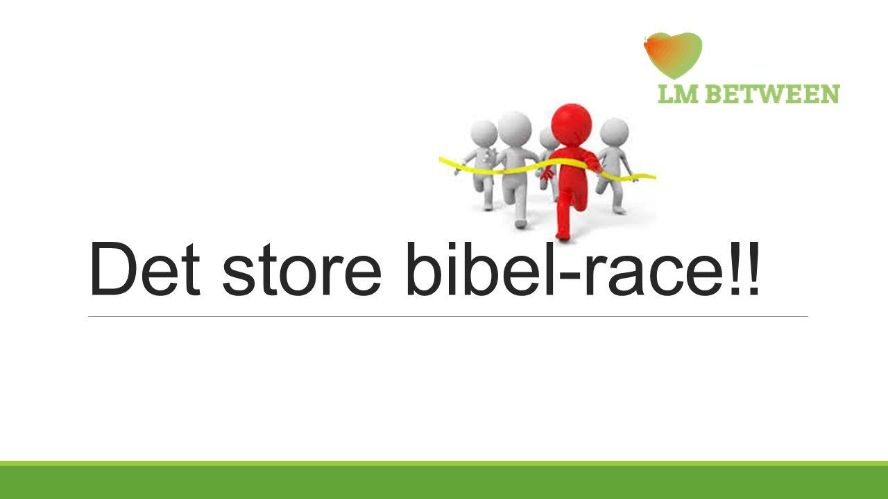 Det store bibel-race!!