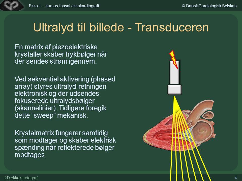 Piezoelektrisk krystal ultralyd