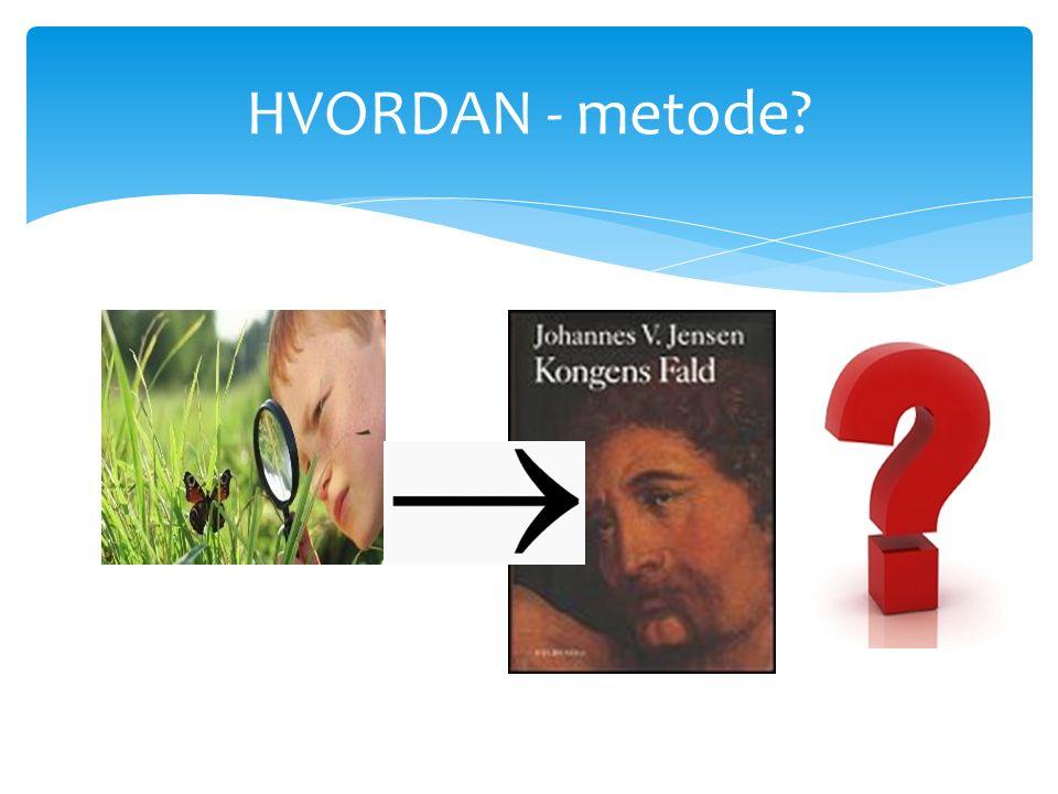 HVORDAN - metode