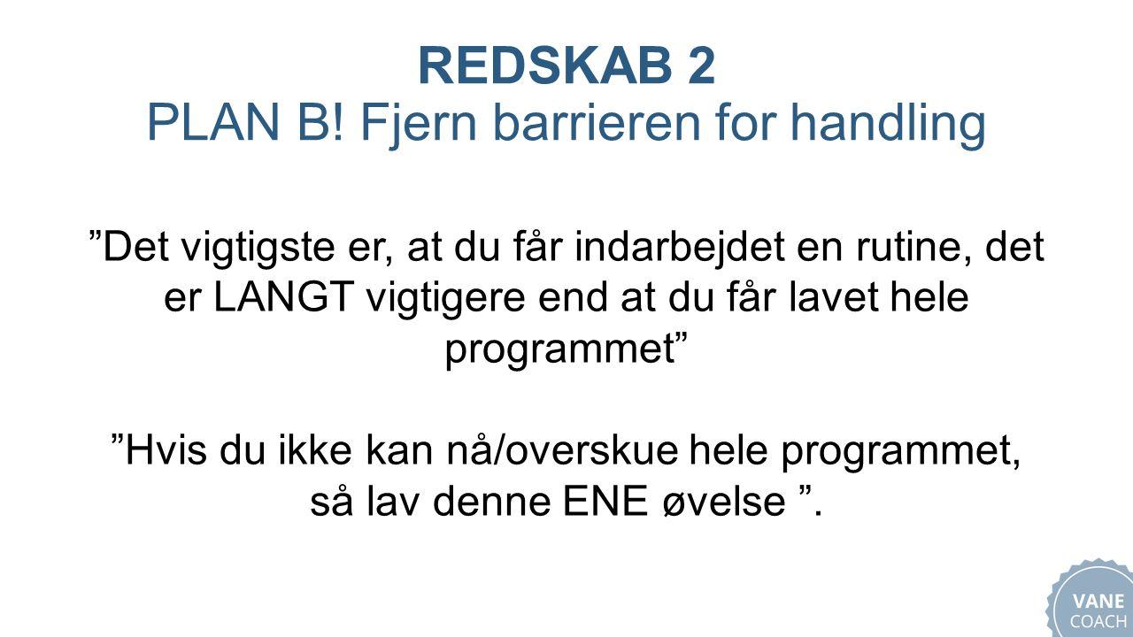 REDSKAB 2 PLAN B.