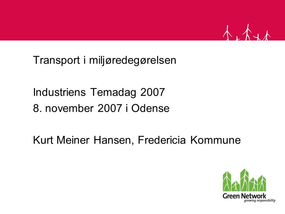 transport af dieselolie