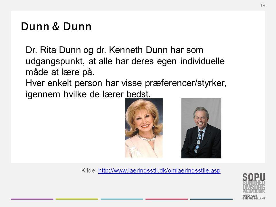 Dunn & Dunn Dr. Rita Dunn og dr.