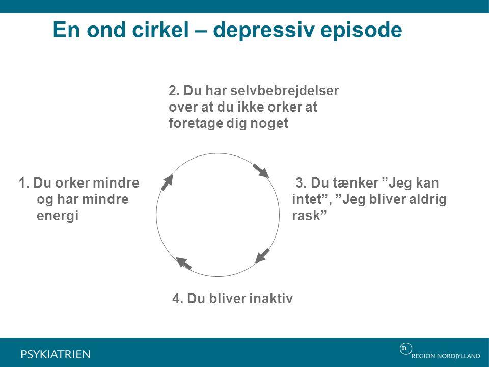 En ond cirkel – depressiv episode 2.