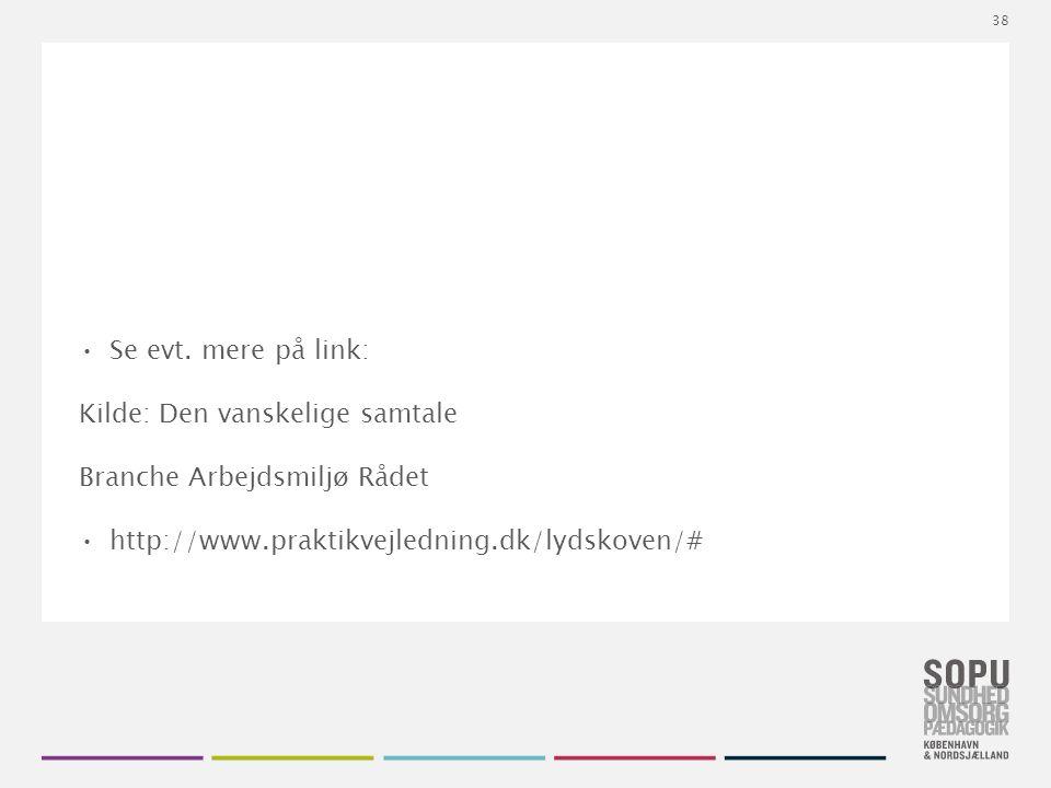Tekstslide med bullets Brug 'Forøge / Formindske indryk' for at skifte mellem de forskellige niveauer Se evt.