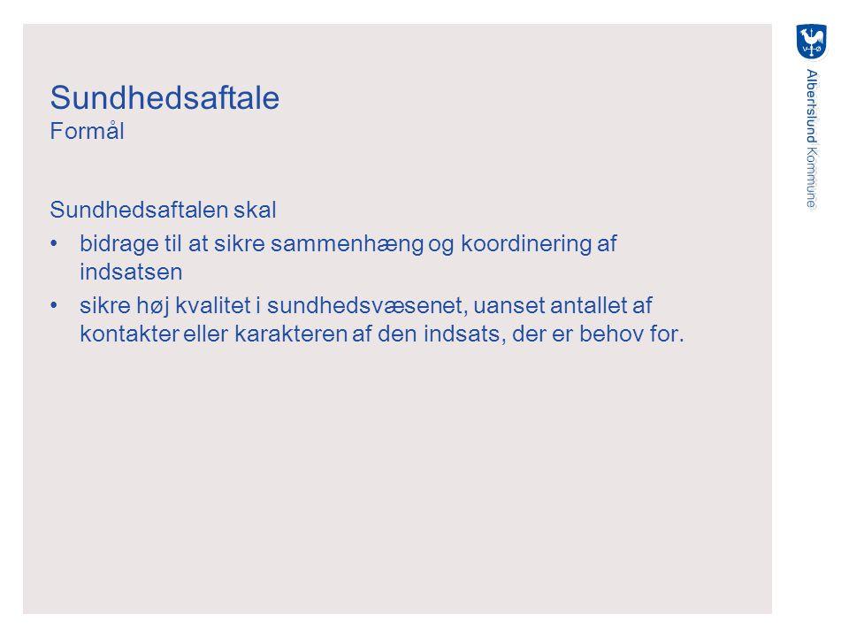 Sundhedsaftale 2011-2014 Grundaftale fælles for alle 29 kommuner inkl.