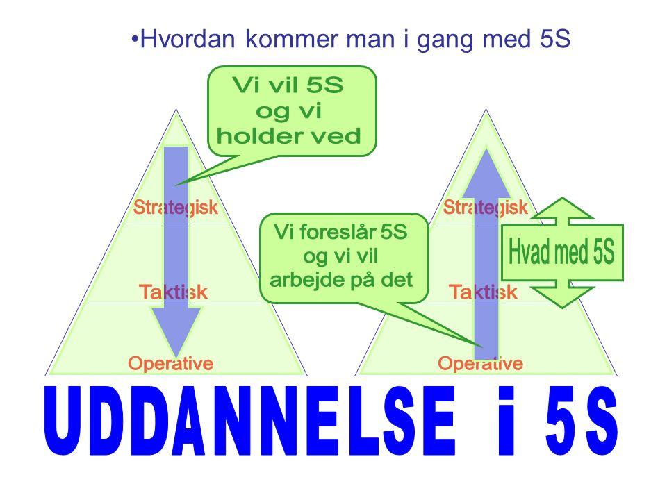 Hvordan kommer man i gang med 5S