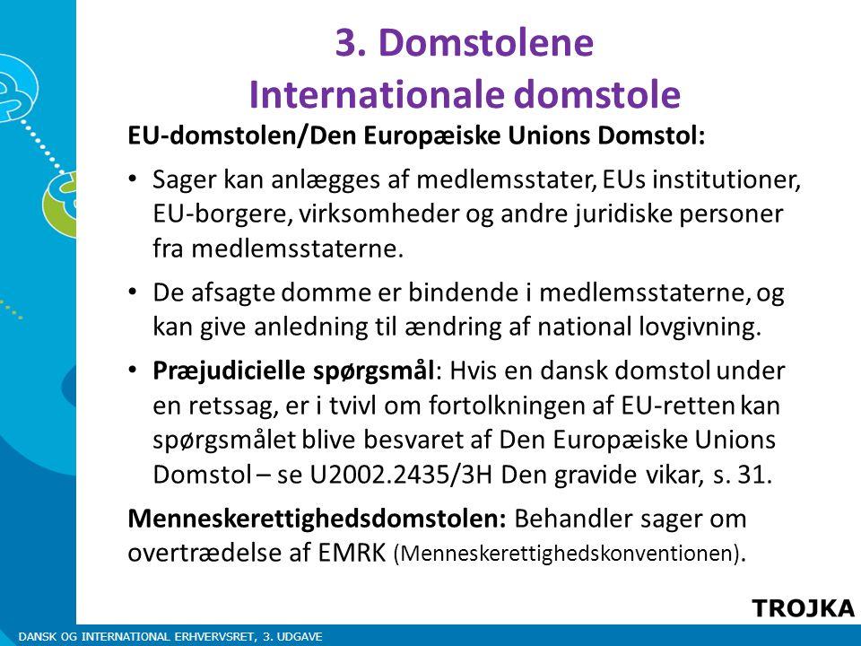 DANSK OG INTERNATIONAL ERHVERVSRET, 3.