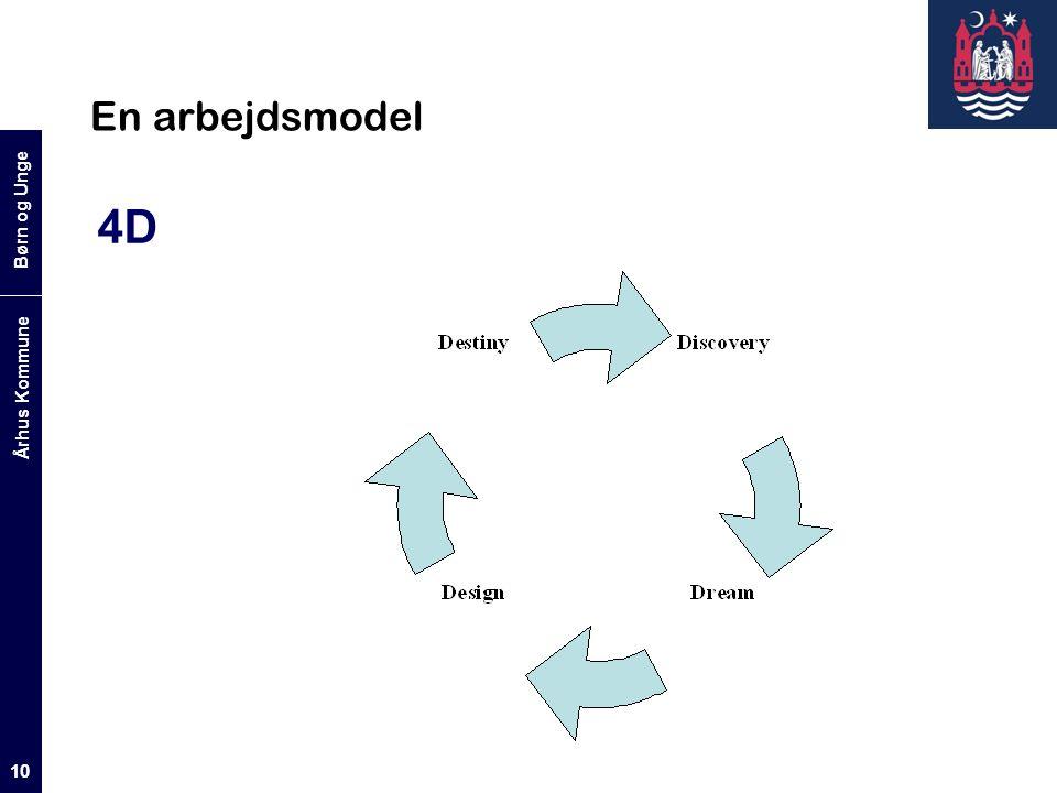 Børn og Unge Århus Kommune 10 En arbejdsmodel 4D