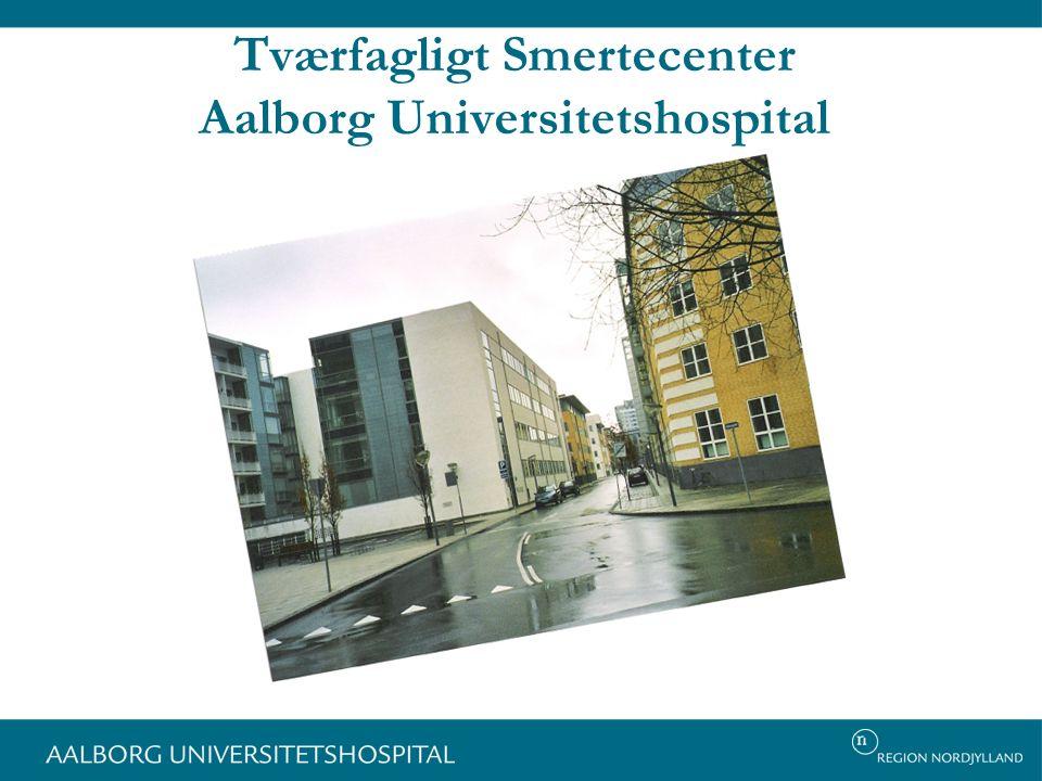 Tværfagligt Smertecenter Aalborg Universitetshospital