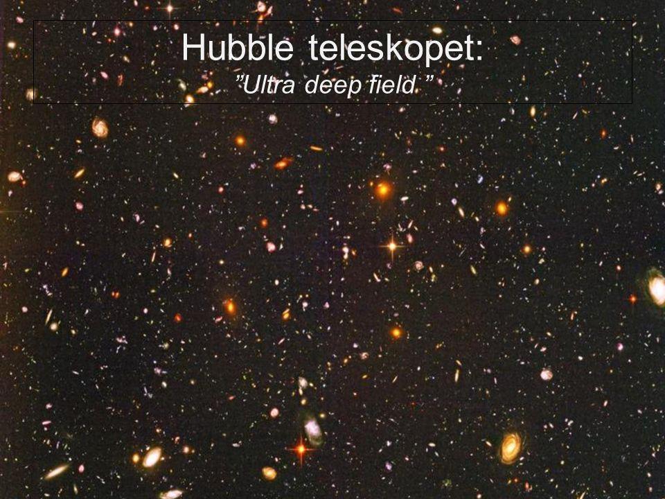 Hubble teleskopet: Ultra deep field