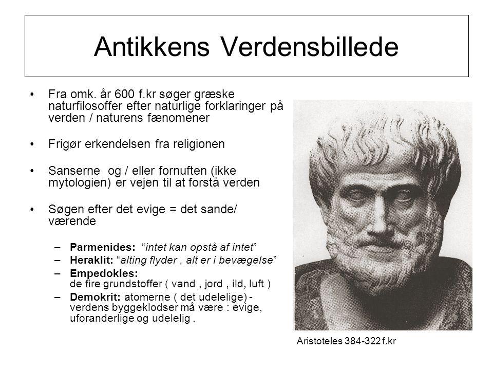 Antikkens Verdensbillede Fra omk.