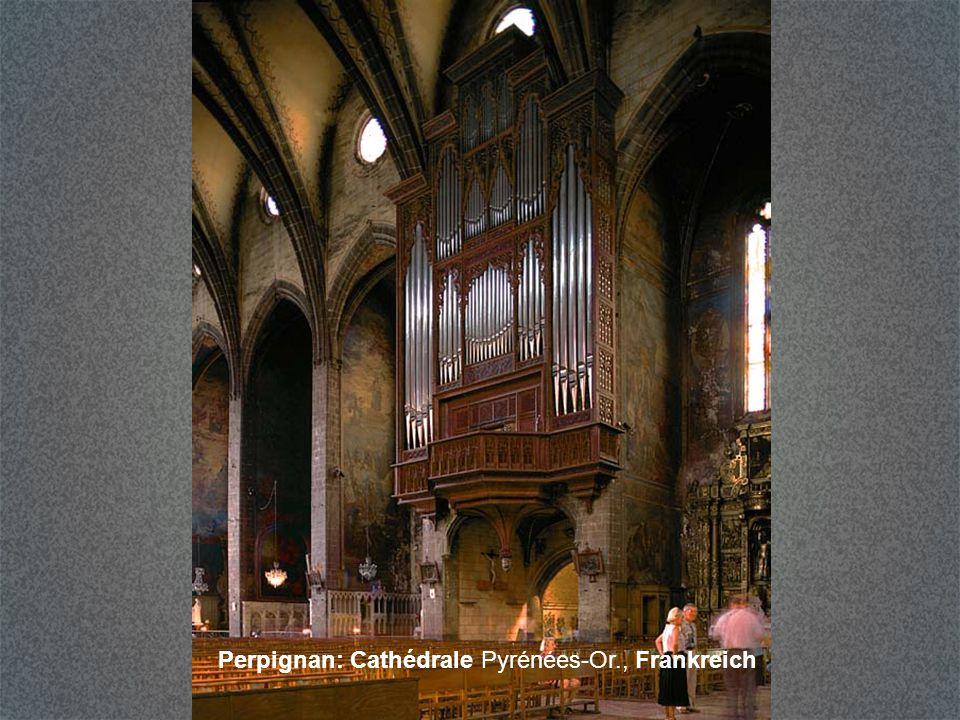 Carcassonne: Basilique St-Nazaire Frankreich