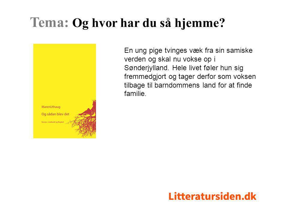 En ung pige tvinges væk fra sin samiske verden og skal nu vokse op i Sønderjylland.