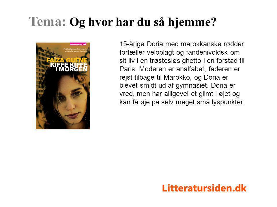 Noveller og tegneseriestriber af ni forfattere og en tegner om at være helt almindelig, ung, dansk og have en anden farve end de fleste.