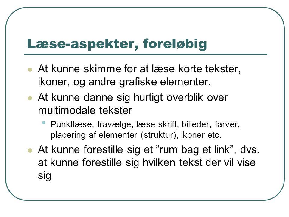 Og den kritiske…  Søg efter danske skikke… og find dem fx på www.danskkultur.dk.www.danskkultur.dk  Grundspørgsmålene til producenten: • Interesser • Forudsætninger • Mål • Intenderet målgruppe