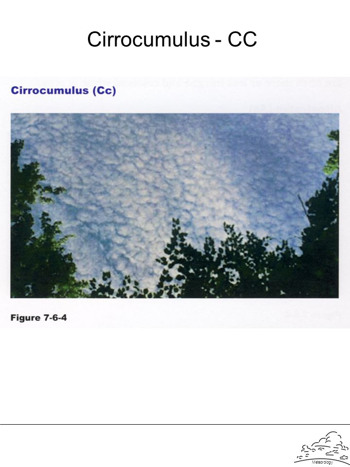 Meteorology Cirrocumulus - CC