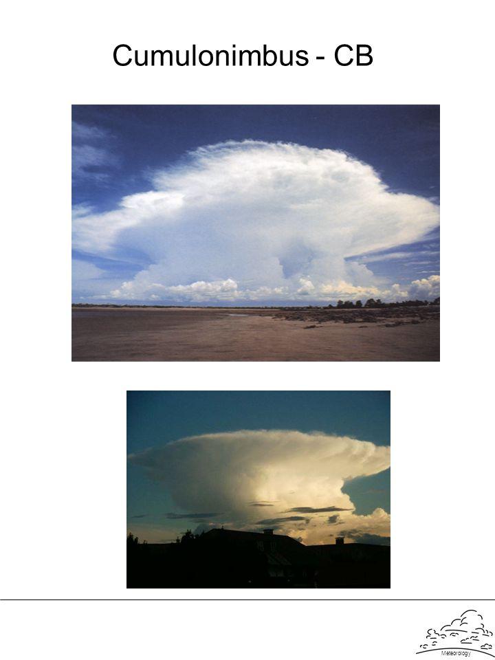 Meteorology Cumulonimbus - CB