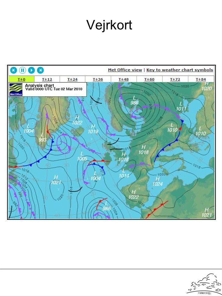 Meteorology Vejrkort