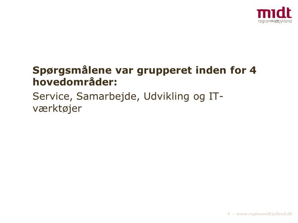 15 ▪ www.regionmidtjylland.dk Når du tænker på samarbejdet inden for jordforurening, hvor tilfreds er du med: - samarbejdet omkring § 8-sager.