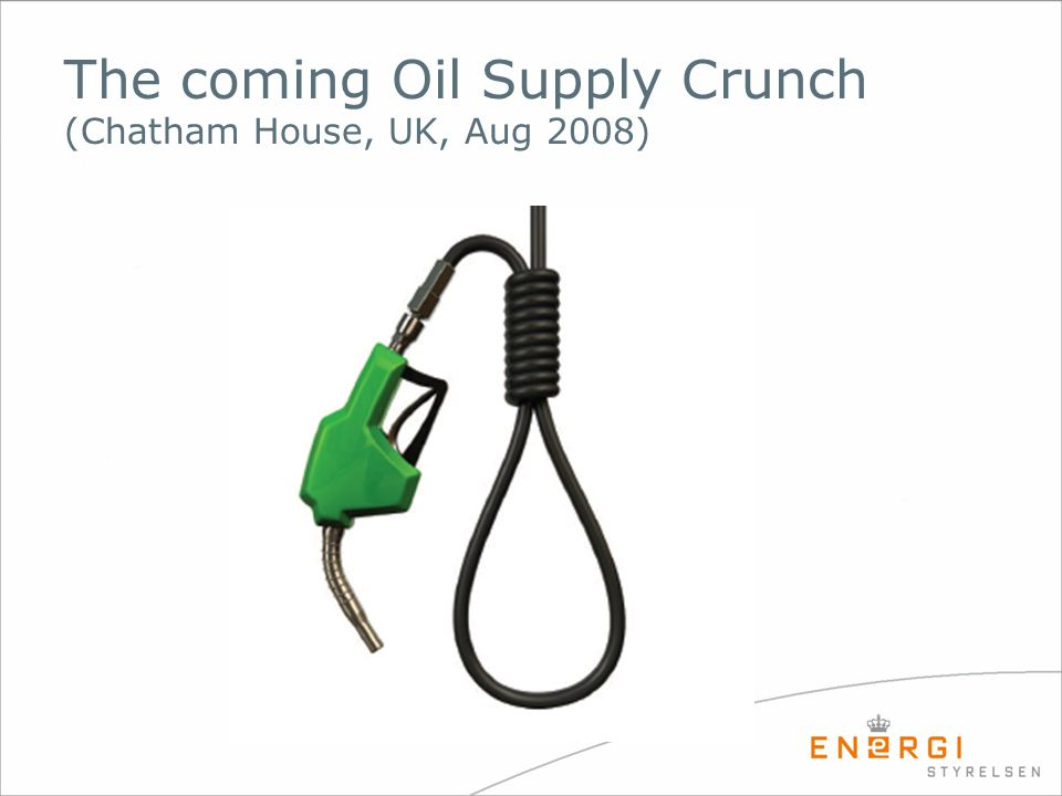 The coming Oil Supply Crunch (Chatham House, UK, Aug 2008)