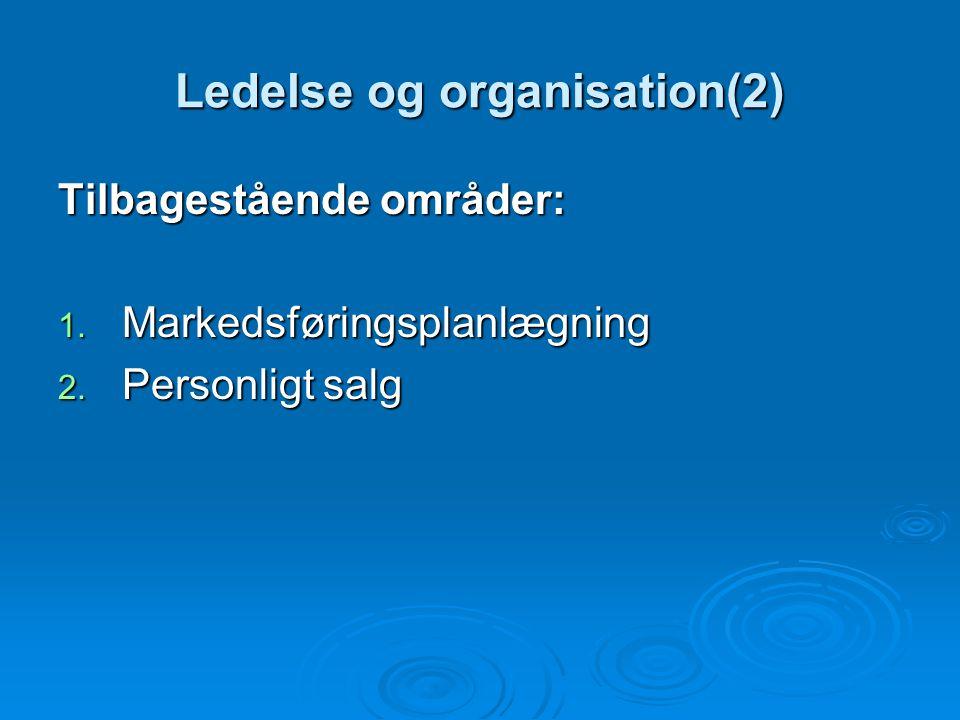 Opfattelsen af marketing Marketing og salg glider i stigende udstrækning ud af bestyrelseslokalerne