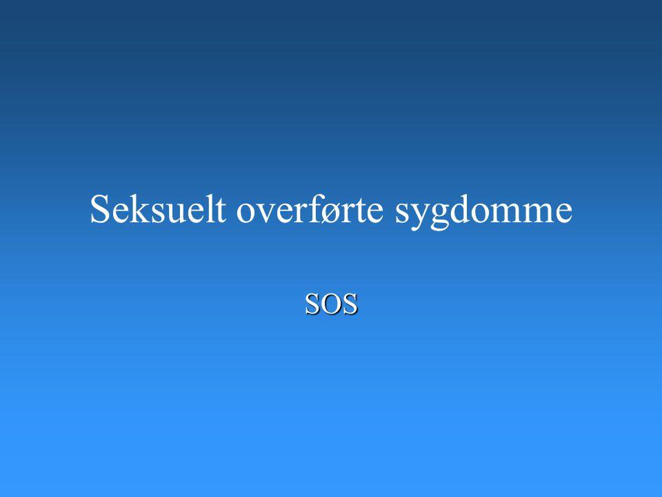 Seksuelt overførte sygdomme SOS