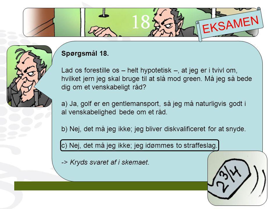 Spørgsmål 18.