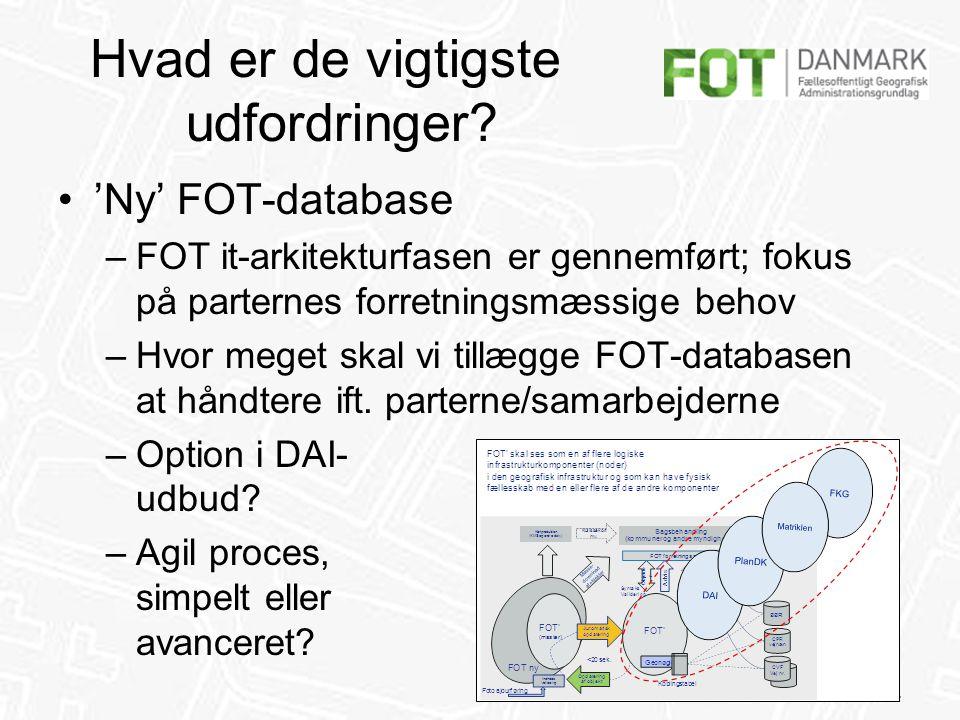 FFC / 14 Hvad er de vigtigste udfordringer.